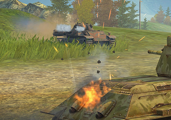 German scouts hit the frontlines in world of tanks blitz update 26 new game mechanics have also been introduced in update 26 with the ability to blast through objects theres nowhere for a vehicle staying in cover to gumiabroncs Image collections