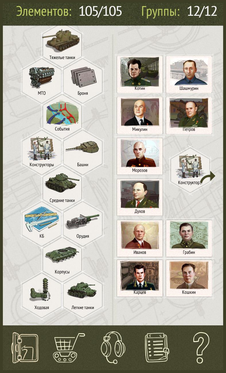Рецепты tank masters