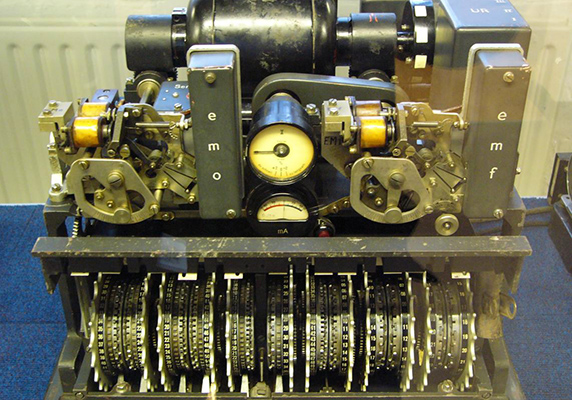 German Lorenz Cipher Machine Used In World War II To Encrypt Very High Level General Staff Messages By Matt Crypto