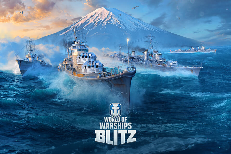 World of Warships Blitz and World of Tanks Blitz Celebrate