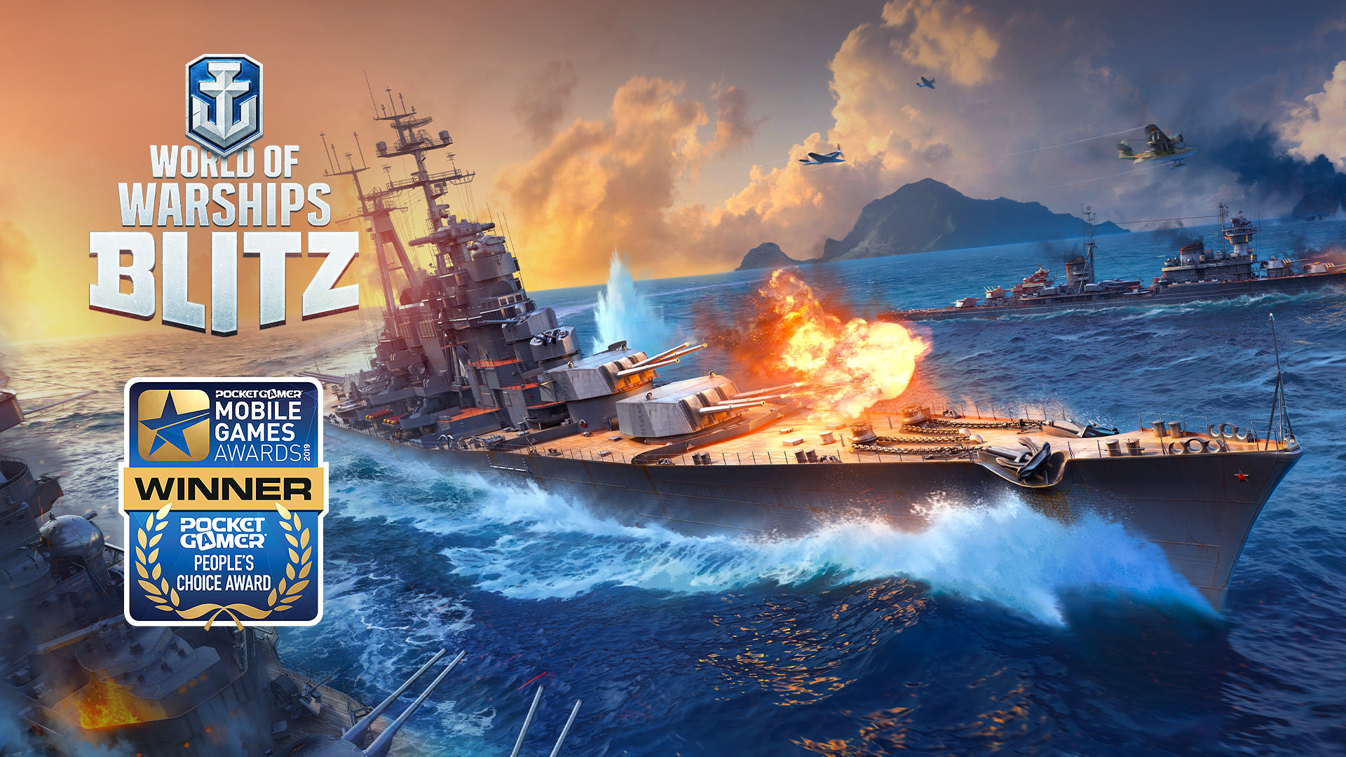 World of Warships Blitz Takes Home the Pocket Gamer People's