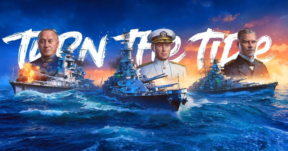 Anchors Aweigh, World of Warships: Legends is Available